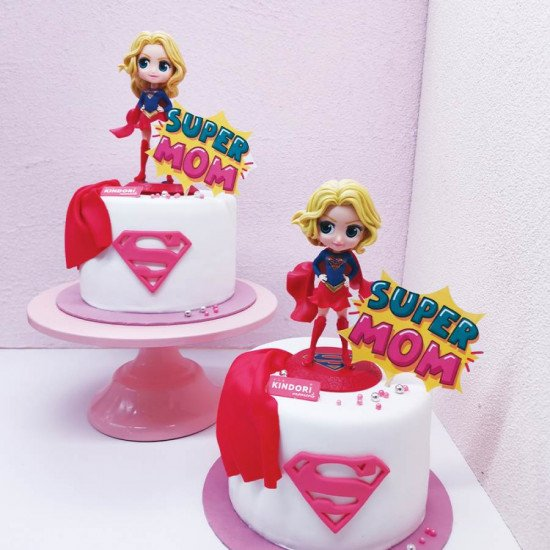 mothers day cake 2021 super mom
