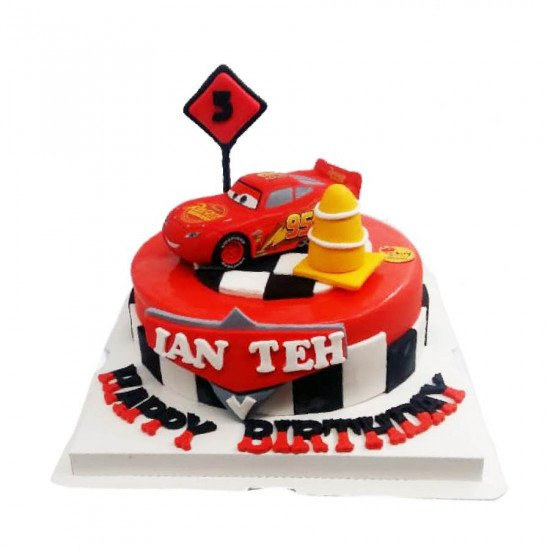 cars cake for boys