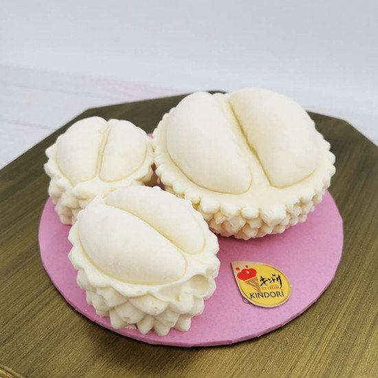 Durian ice cream mini cake