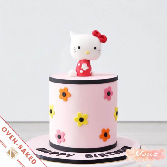 hello kitty cake fondant